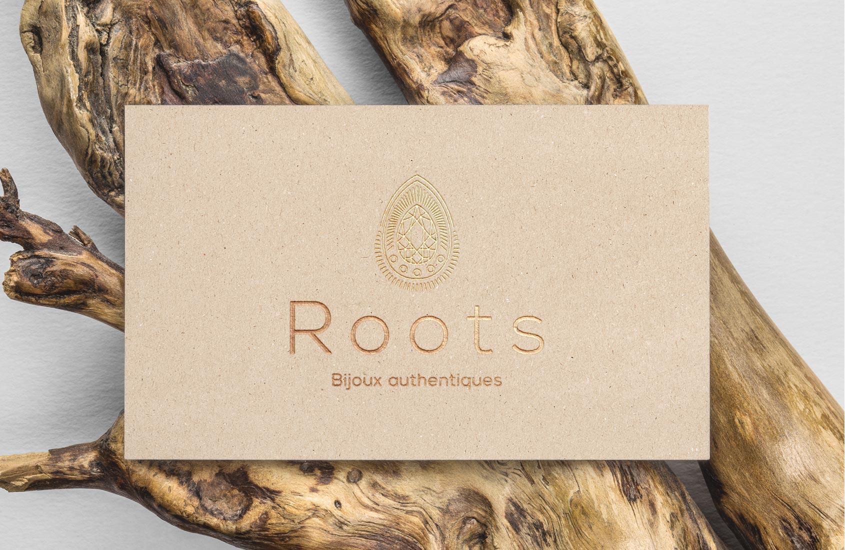 Carte de visite Roots