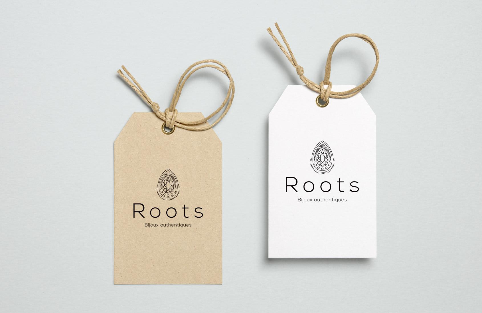 Etiquettes Roots