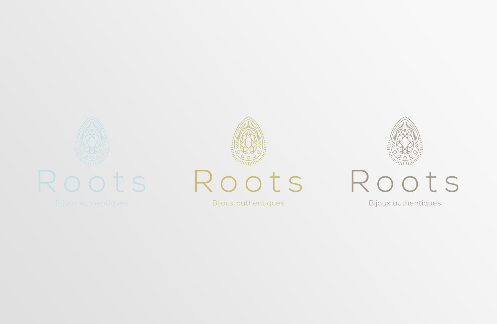 Couleurs de logo Roots