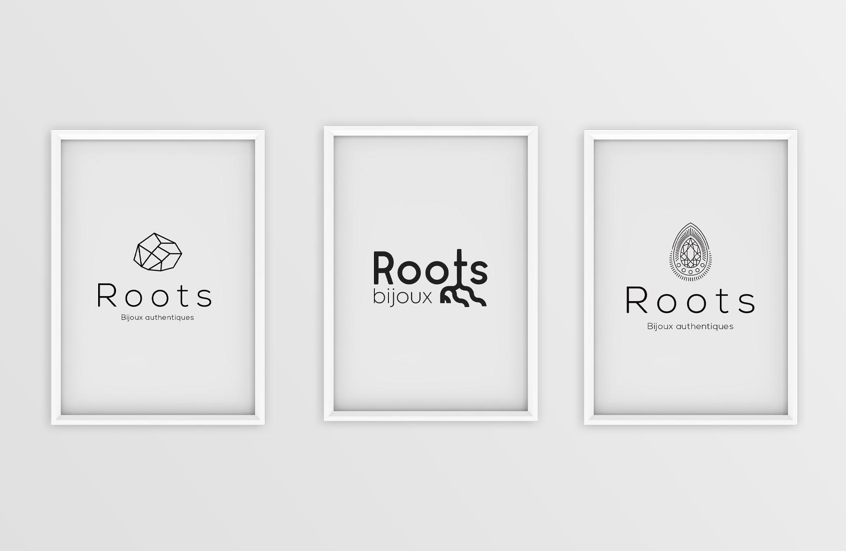 Logos Roots bijoux authentiques